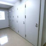 物件と同じ階のトランクルーム