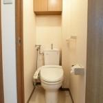 トイレ・温水洗浄便座付・上部収納