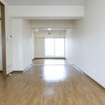 居間と洋室の仕切り戸は戸袋に収納できます。