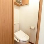 トイレ・温水洗浄便座付・収納