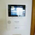 TVモニターインターホン(録画機能付き)