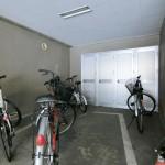 1階専用トランク、駐輪場